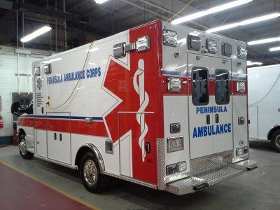 Ambulance from rear