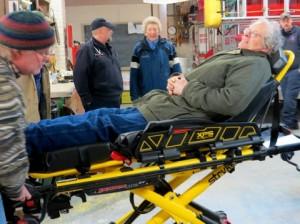 Test the stretcher