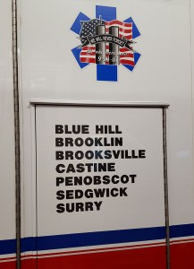 Seven towns covered by Peninsula Ambulance Corps