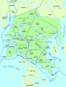 Peninsula Ambulance Corps coverage map